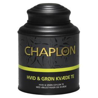 Chaplon Hvit & grønn m kvede og eple