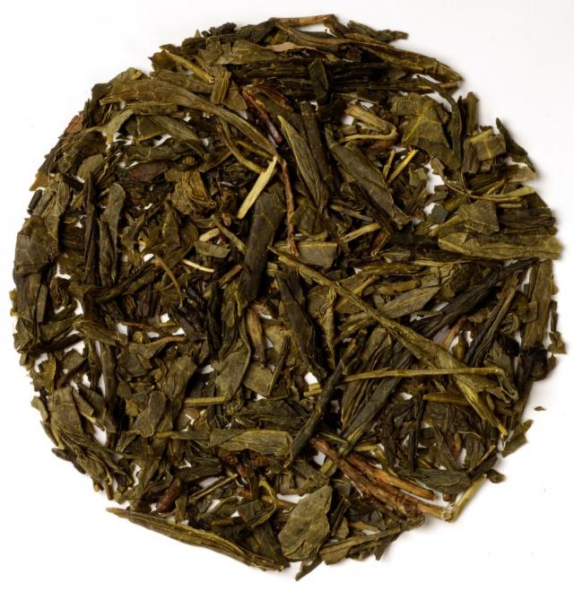 Økologisk hvit & grønn te med mynte