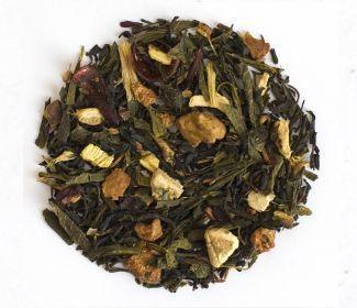 Grønn & sort krydder te