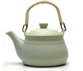 Sjøgrønn tokoname og frisk te