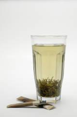 økologisk grønn perle te Lemon