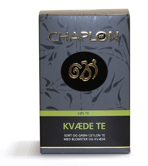 Chaplon Tea Kvæde 100g pk