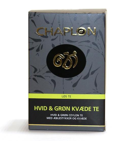 Chaplon Hvit & grønn kvede 100g pk
