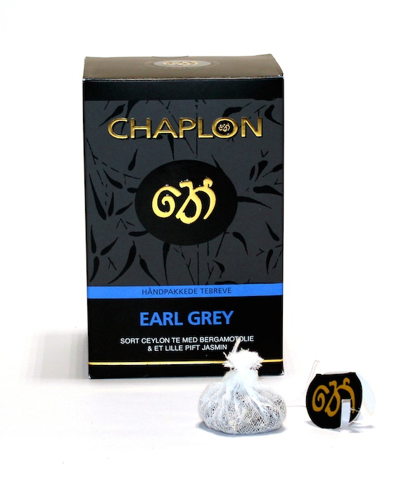 Chaplon Tea Earl Grey 15 teposer