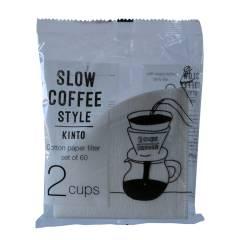 KINTO kaffefilter til 2 kopper 60stk