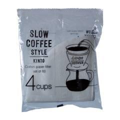 KINTO kaffefilter til 4 kopper 60stk