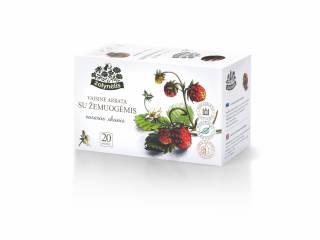 Frukt te med villjordbær