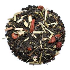 Øko sort te med gojibær og havtorn 100g